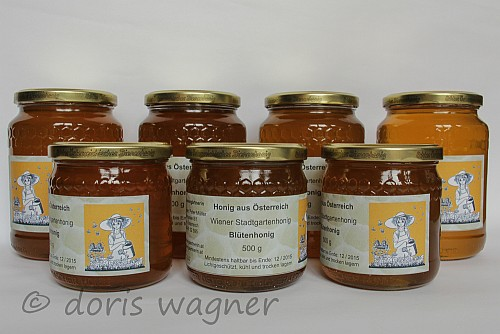 Honigglaeser 500